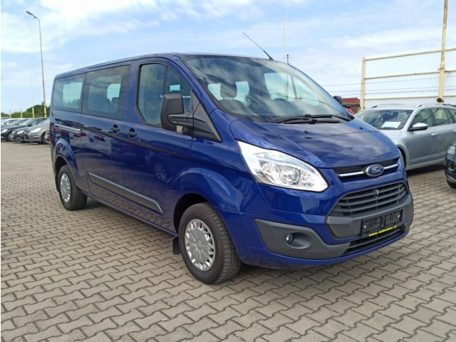Ford Transit Custom 2.2TDCi 125PS 9.MÍST LONG KLIMA